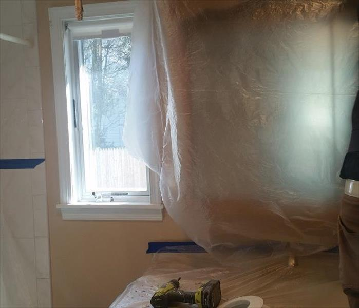 Port Jefferson - Water Damage  Before