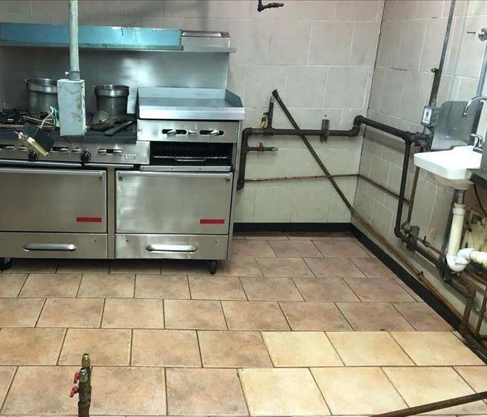 General Cleaning for a Commercial Business After
