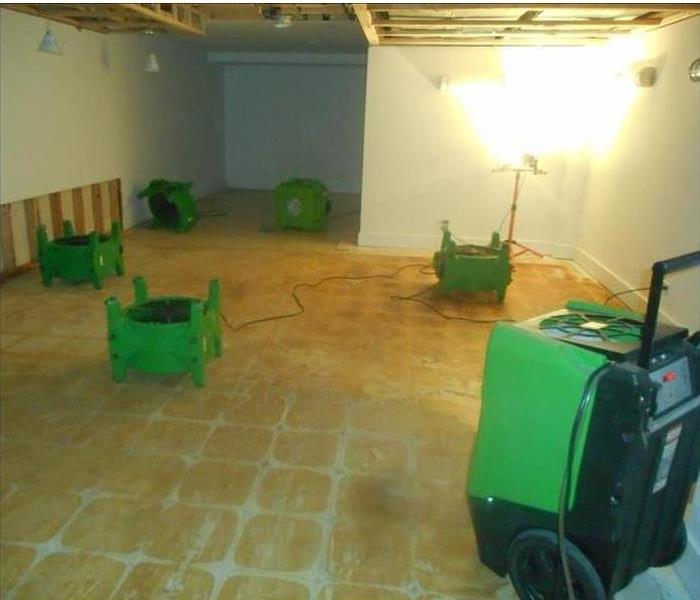 Water Damage Water Intrusion in one room can mean Water Damage in other rooms