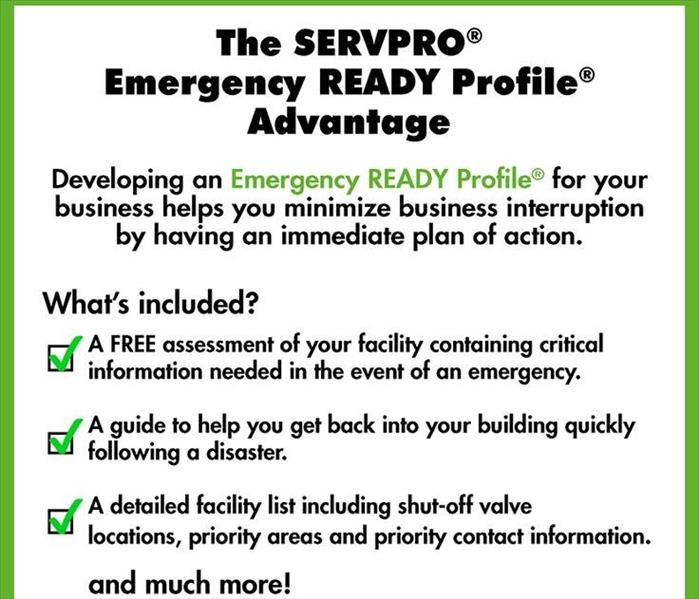 Building Services SERVPRO - Emergency Ready Profile